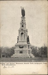 Soldiers' and Sailors' Monument, Seaside Park