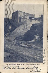 The Old Red Mill Postcard
