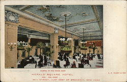 Glimpse of the Dining Room, Herald Square Hotel