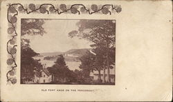 Old Fort Knox on the Penobscott Postcard