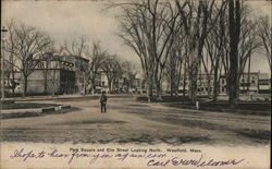 Park Square and Elm Street Looking North
