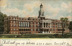 Hospital of St. Vincent de Paul Postcard