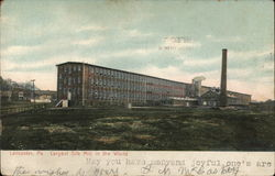 Largest Silk Mill in the World