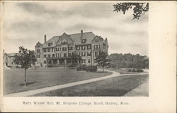 Mary Wilder Hall, Mt. Holyoke College