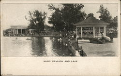 Willow Grove Park Music Pavilion and Lake