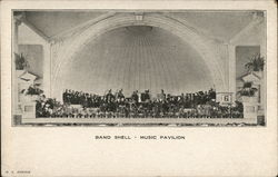Band Shell - Music Pavilion, Willow Grove Park