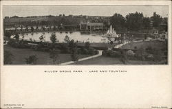 Willow Grove Park, Lake and Fountain