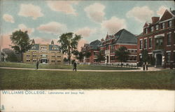Williams College, Laboratories and Jesup Hall