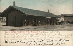 View of Old New York Central Depot