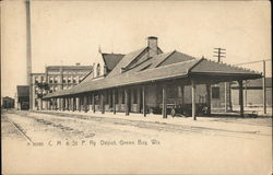 Chicago, Milwaukee & St. Paul Railroad Depot