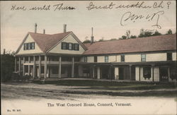 The West Concord House