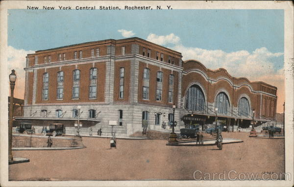 New York Central Station Rochester