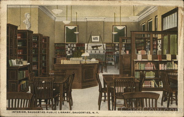 Interior, Saugerties Public Library New York