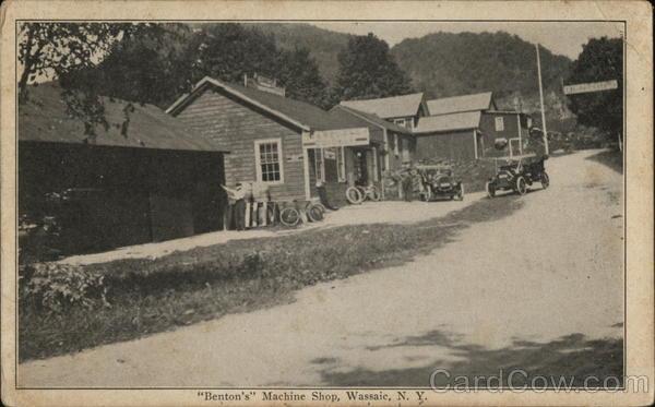 """Benton's"" Machine Shop"