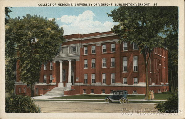 College of Medicine, University of Vermont