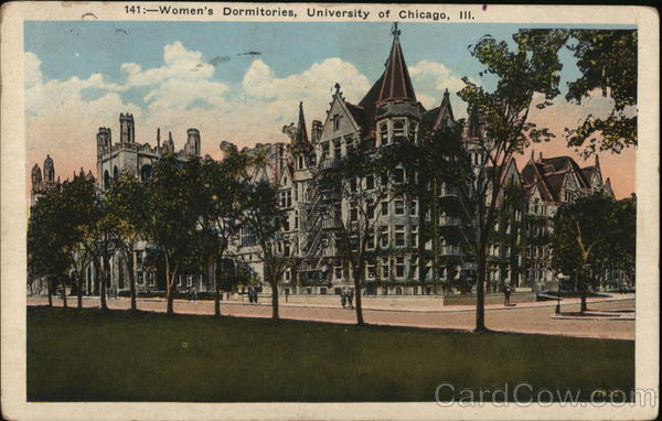Women's Dormitories, University of Chicago Illinois