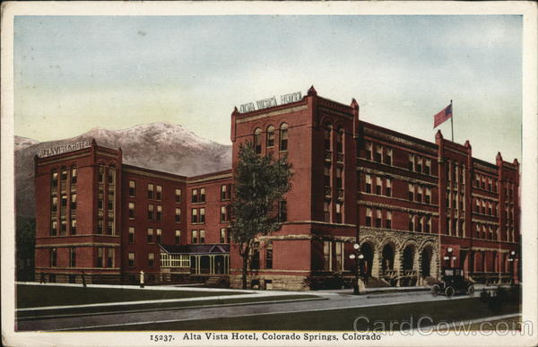 Alta Vista Hotel Colorado Springs