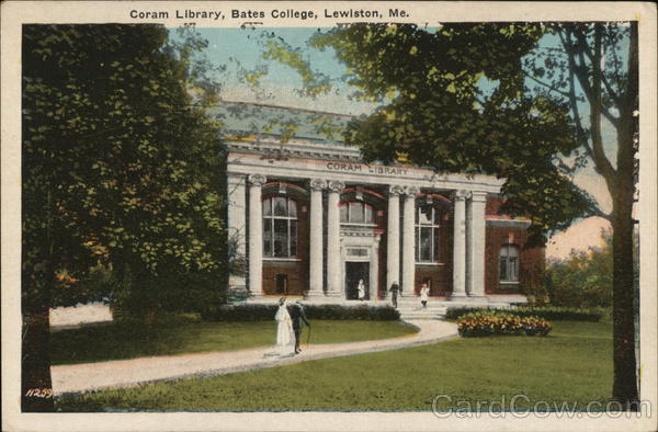 Coram Library, Bates College Lewiston Maine