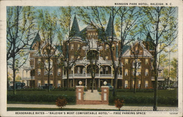 Mansion Park Hotel Raleigh North Carolina