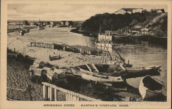 Menemsha Creek Martha's Vineyard Massachusetts