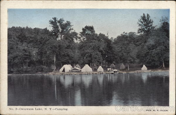Camping Oscawana Lake New York