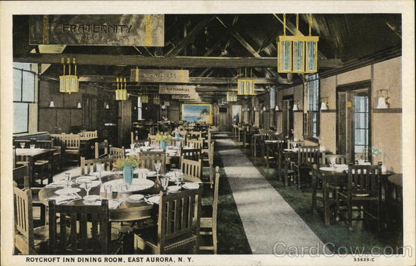Roycroft Inn Dining Room East Aurora New York