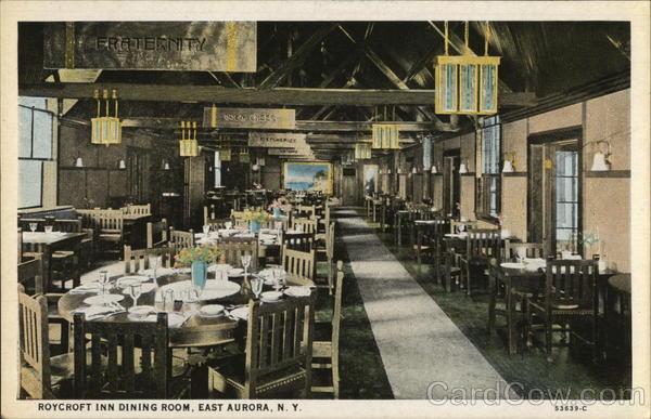 Roycroft Inn Dining Room East Aurora New York