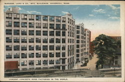 Burgess Lang & Co. Mfg. Buildings