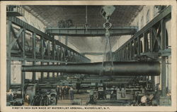 First 16 Inch Gun Made at Watervliet Arsenal