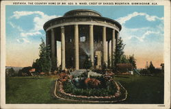 Vestavia, Country Home of Mr. Geo B. Ward, Crest of Shades Mountain