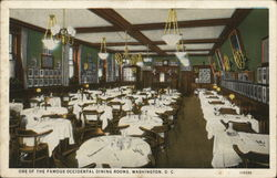 One of the Famous Occidental Dining Rooms, Hotel Occidental