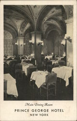 Main Dining Room, Prince George Hotel