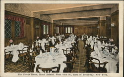 The Clover Room, Hotel Bristol, West 48th St., East of Broadway