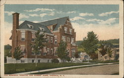 Fox Memorial Hospital and Nurses Home Postcard