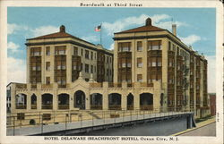 Hotel Delaware, Boardwalk at Third St.