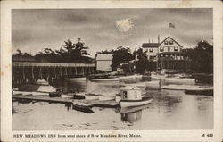 New Meadows inn from West Shore of River