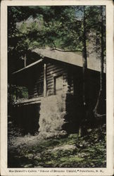MacDowell's Cabin, House of Dreams Untold