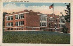 Stephen's High School Postcard