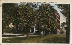 Carnegie Science Hall, Bates College