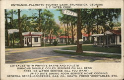 Entrance, Palmetto Tourist amp