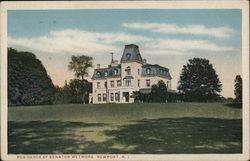 Residence of Senator Wetmore
