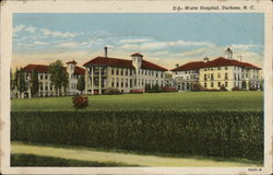 Watts Hospital Postcard