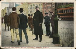One of the Giant Police, O'Connell Street