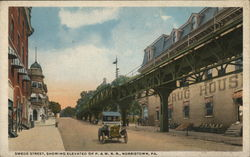Swede Street, Showing Elevated of P. & W. R. R.