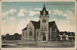 Zion Lutheran Church Postcard