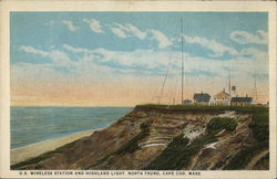 US Wireless Station and Highland Light