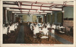 Dining Room, Taunton Inn