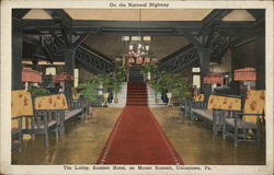 The Lobby, Summit Hotel, on Mount Summit