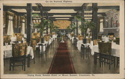 Dining Room, Summit Hotel, Mount Summit