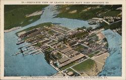 Bird's Eye View of League Island Navy Yard